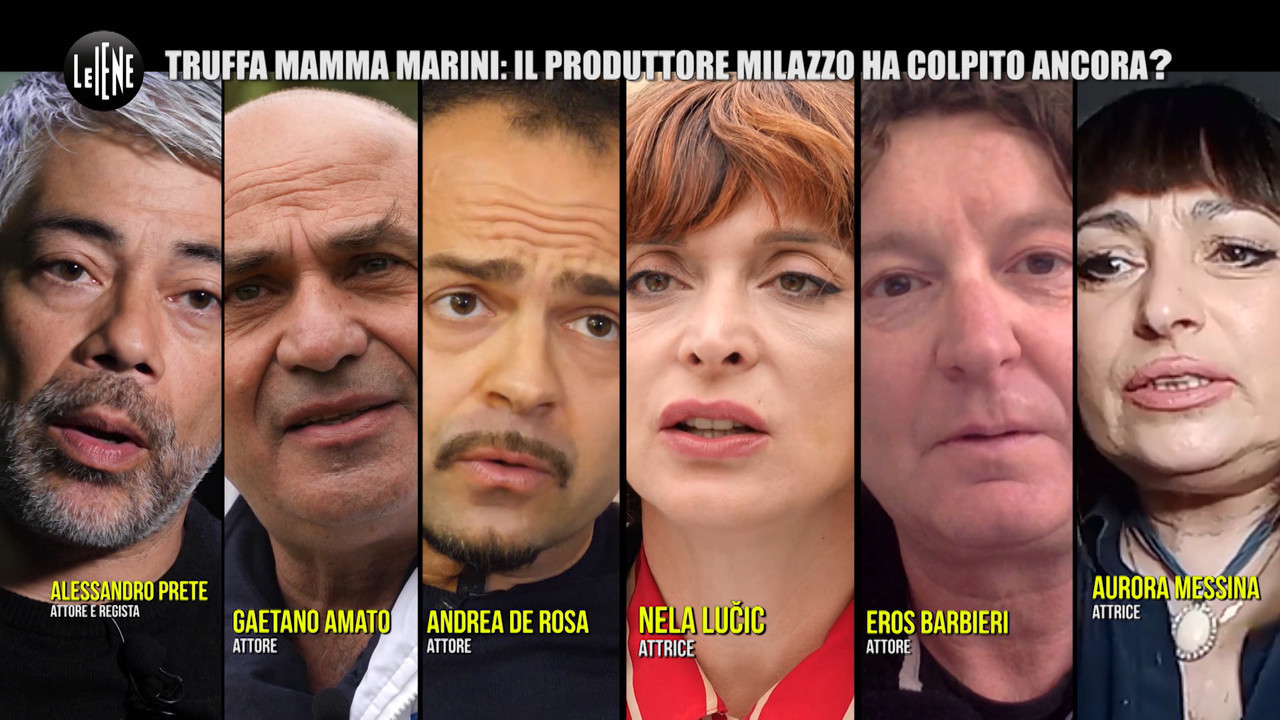 produttore accusato truffa mamma Marini