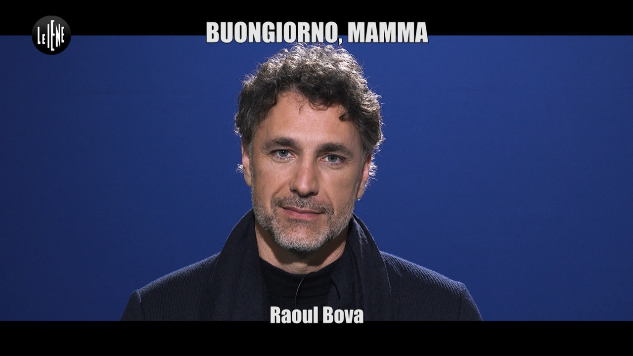 Raoul Bova buongiorno mamma