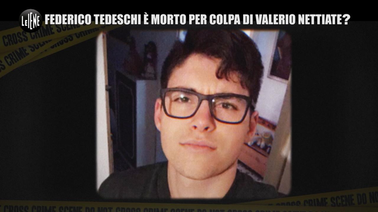 Federico Tedeschi morto Valerio Nettiate
