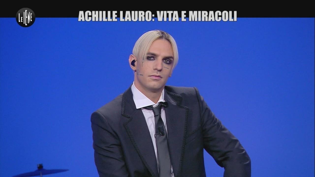 """Achille Lauro a Le Iene: """"Tra 10 anni mi vedo molto più in alto di adesso"""""""