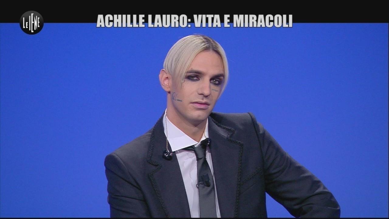 Achille Lauro live ultimo singolo