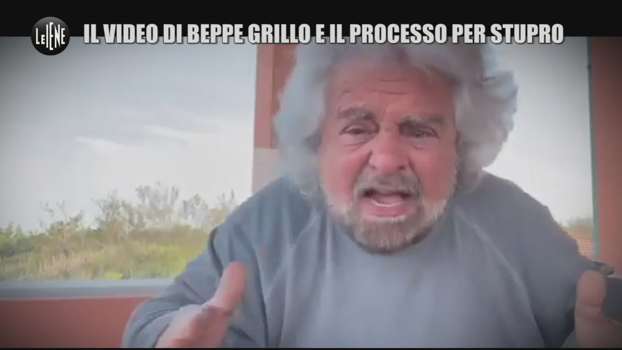 video Grillo accusa stupro figlio
