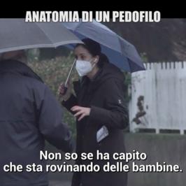 anatomia pedofilo arrestato minorenne