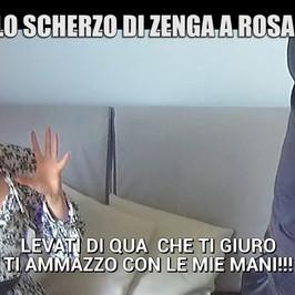 Rosalinda cannavo scherzo Andrea zenga