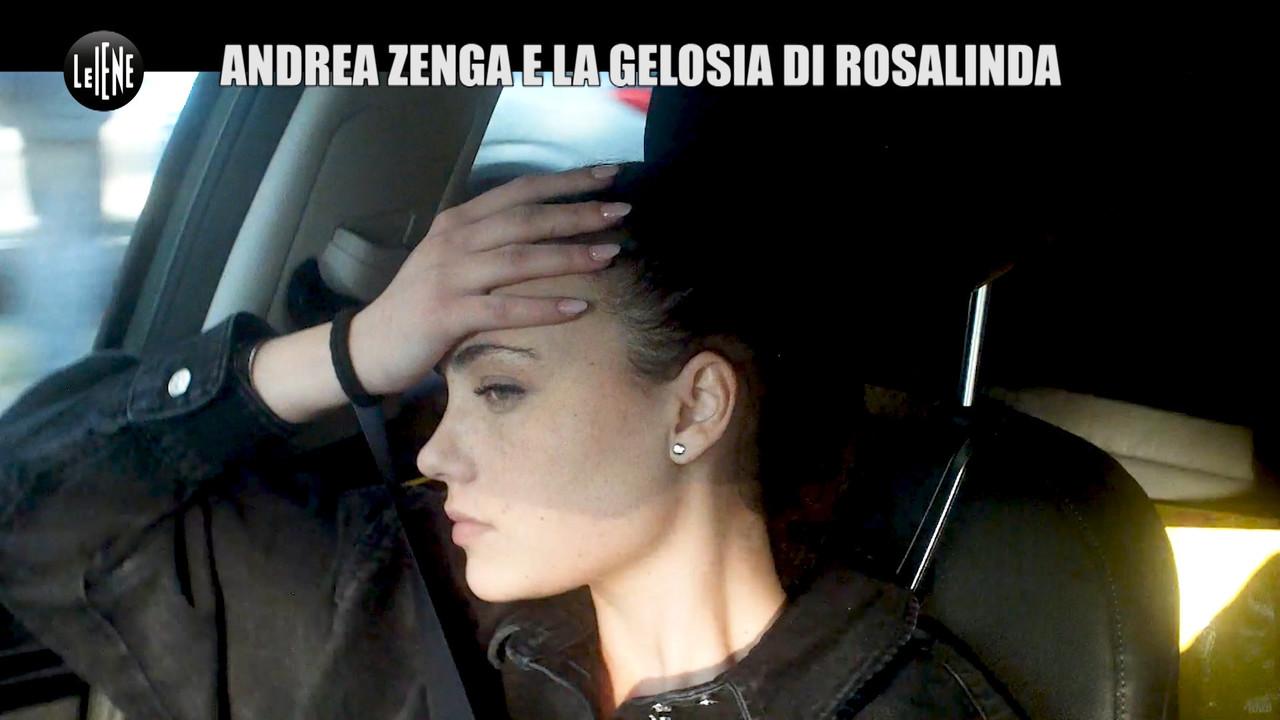 Rosalinda gelosissima: lo scherzo di Andrea Zenga | VIDEO