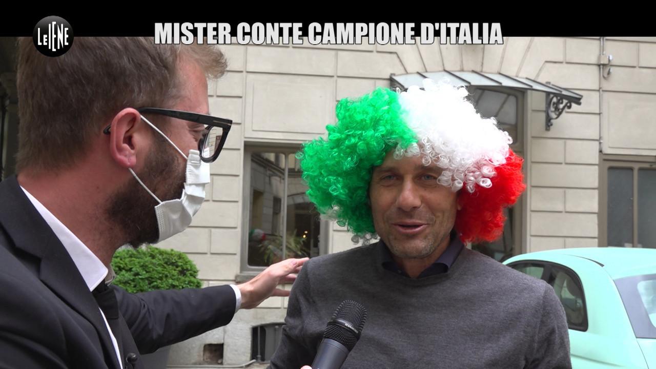 CORTI: L'intervista ad Antonio Conte, campione d'Italia con l'Inter