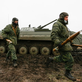 Mercenari Donbass arrestato 28enne