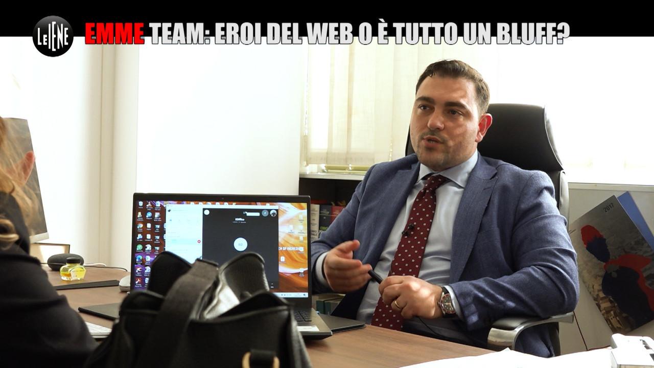 Emme Team eroi del web bluff
