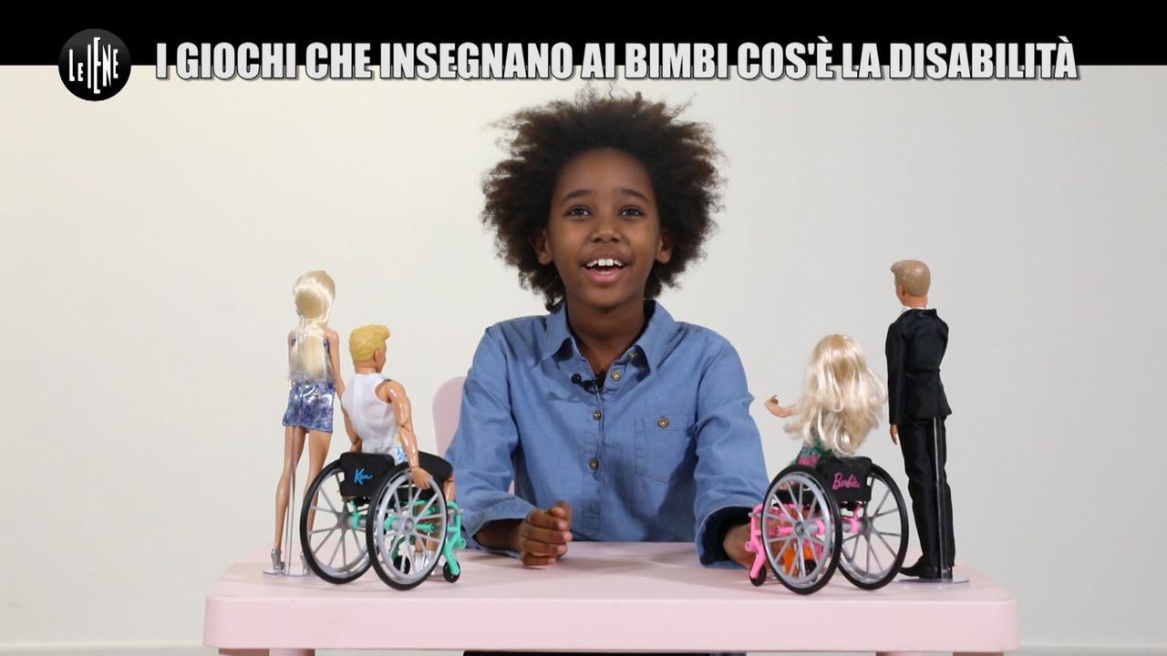 giochi bambini bambole disabili