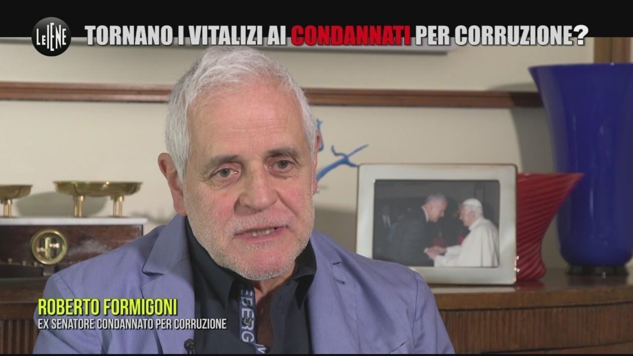 """INNOCENZI: Tornano i vitalizi ai condannati per corruzione? Formigoni: """"I soldi sono miei!"""""""