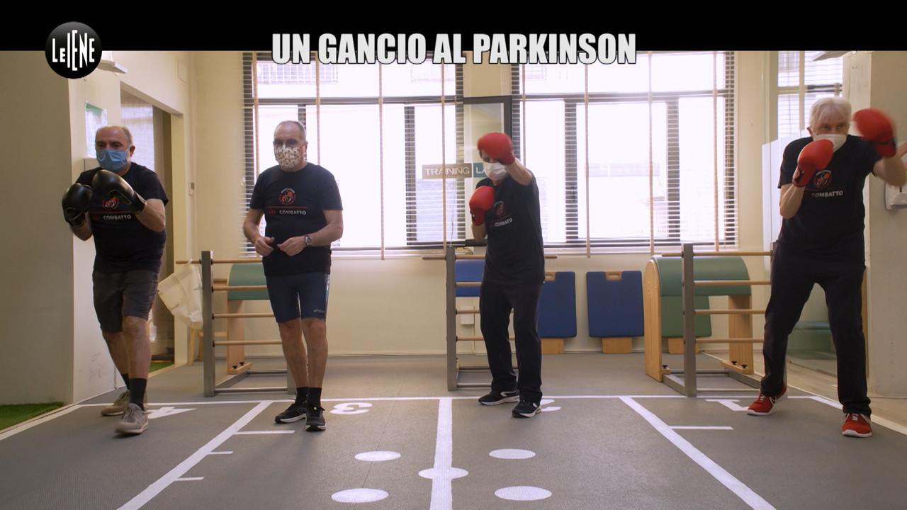 gancio Parkinson boxe malattia