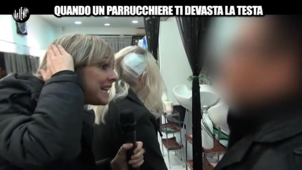 Noemi e la testa devastata dal parrucchiere: il processo