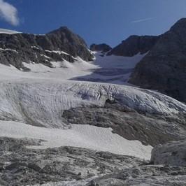 ritirata ghiacciai italia Marmolada