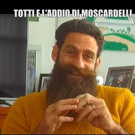 Moscardelli Totti scherzo