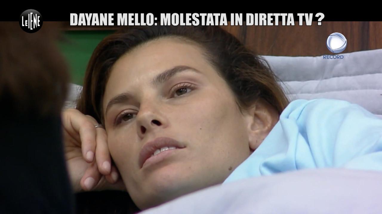 Dayane Mello vittima stupro