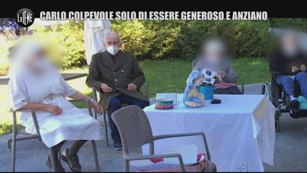 Carlo Gilardi generoso anziano