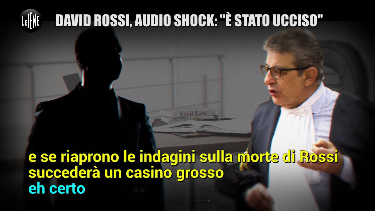 MONTELEONE: David Rossi, anche la commissione parlamentare d'inchiesta ha dubbi sul suicidio
