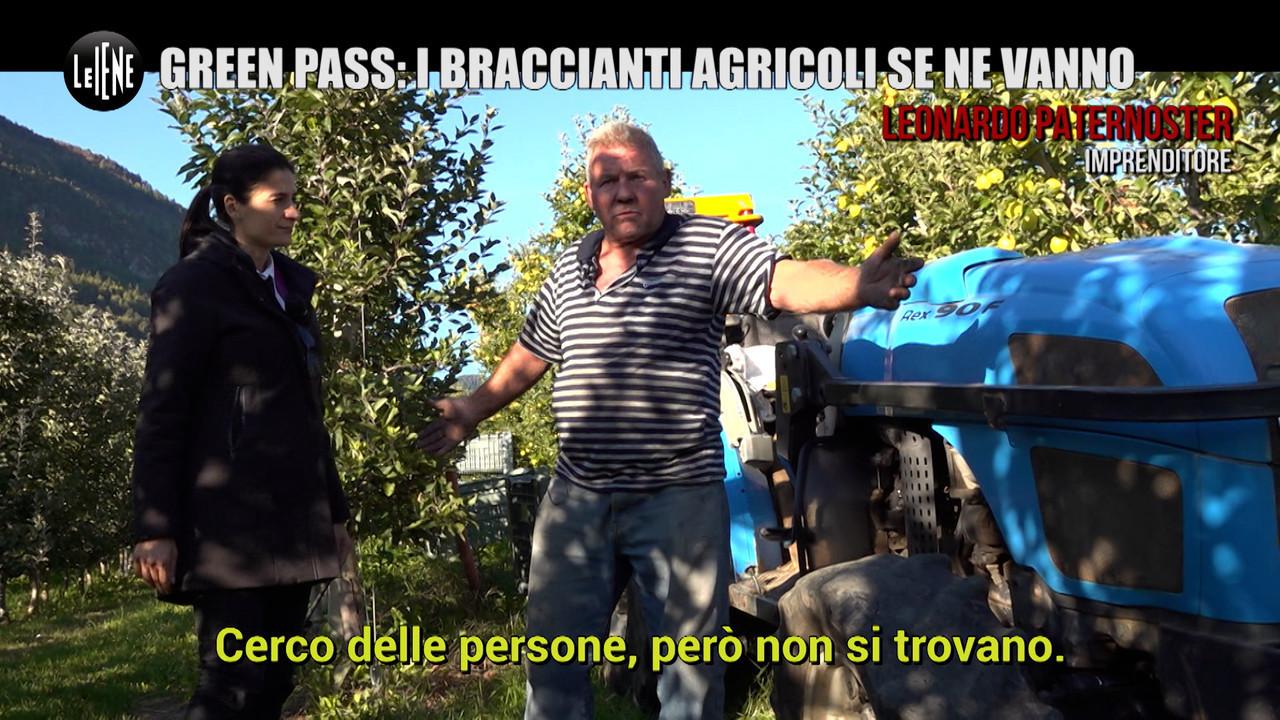 MARTINELLI: Green pass: i braccianti agricoli se ne vanno