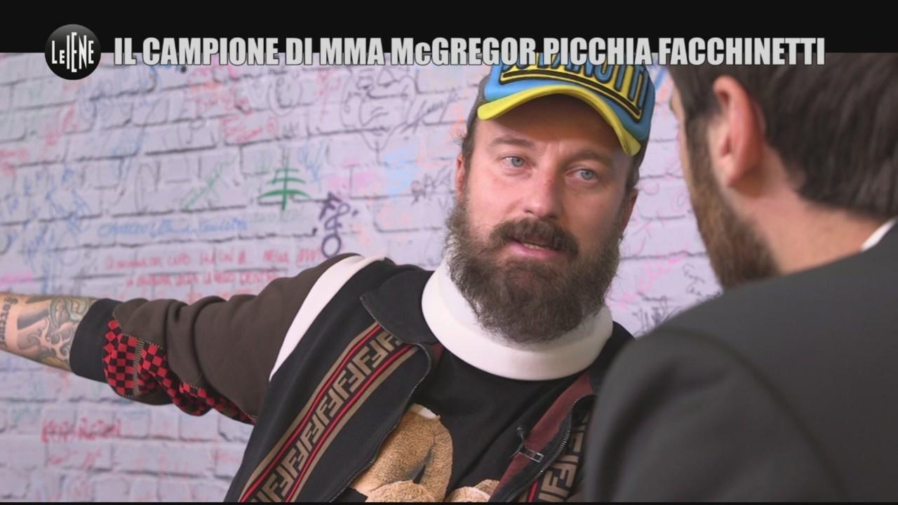 Cosa è successo tra Francesco Facchinetti e Conor McGregor?