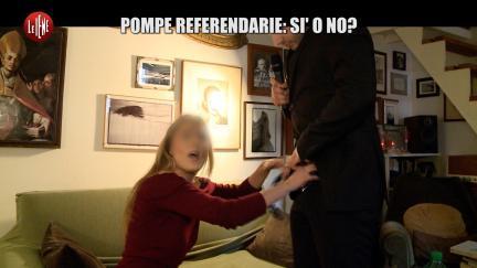 CORDARO: Pompe referendarie: Sì o No?
