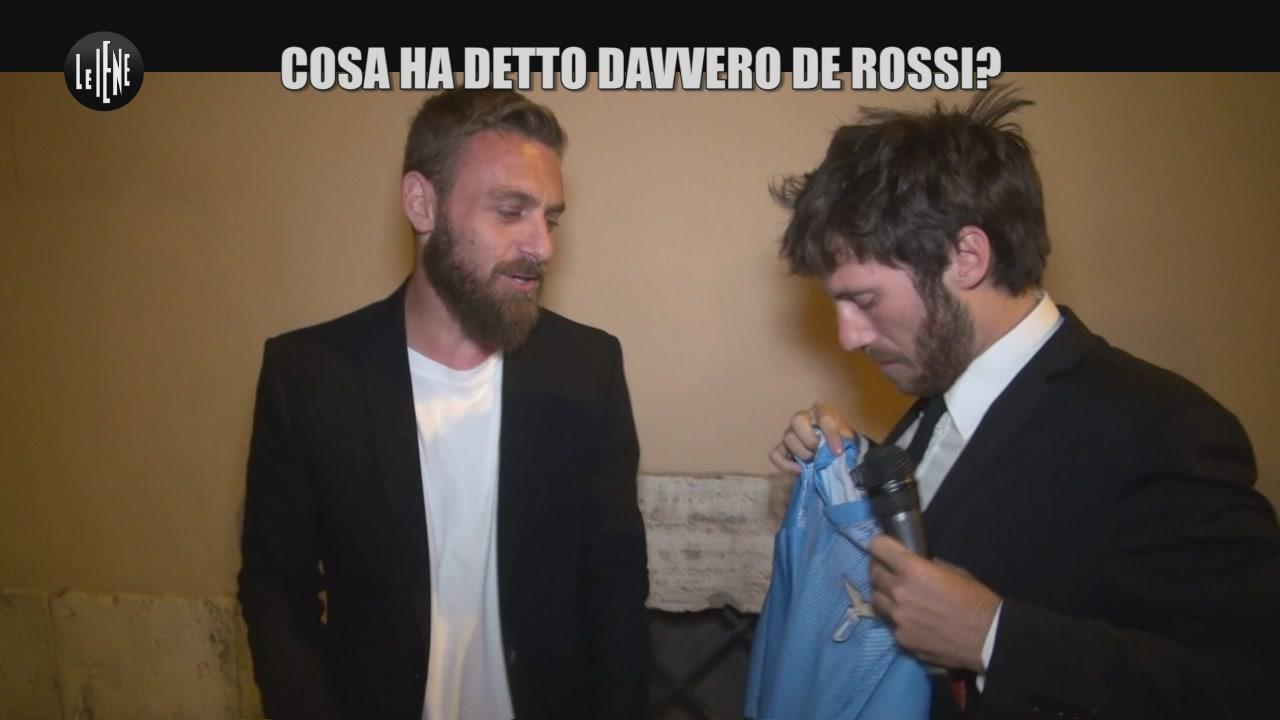 DE DEVITIIS: Cosa ha detto davvero De Rossi?