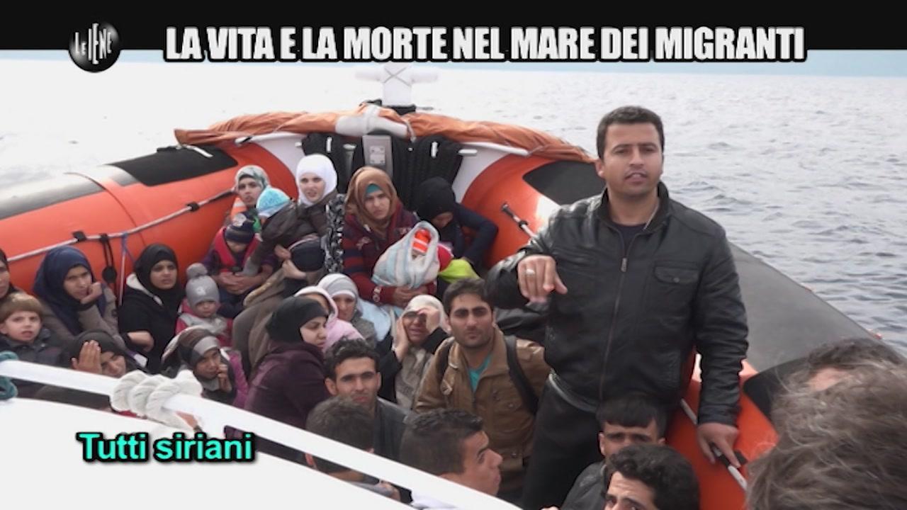 PECORARO: La vita e la morte nel mare dei migranti