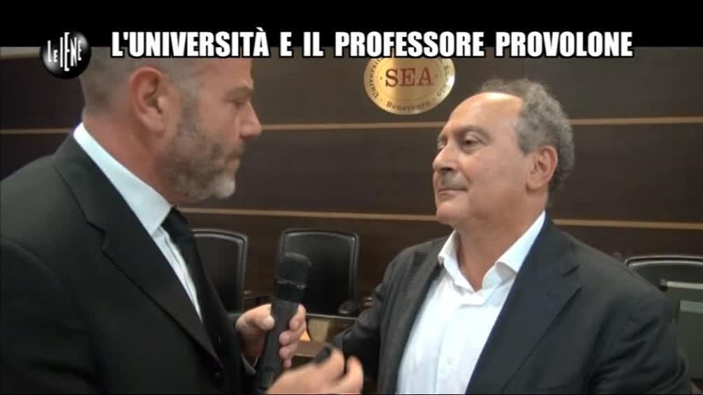 GOLIA: L'università e il professore provolone