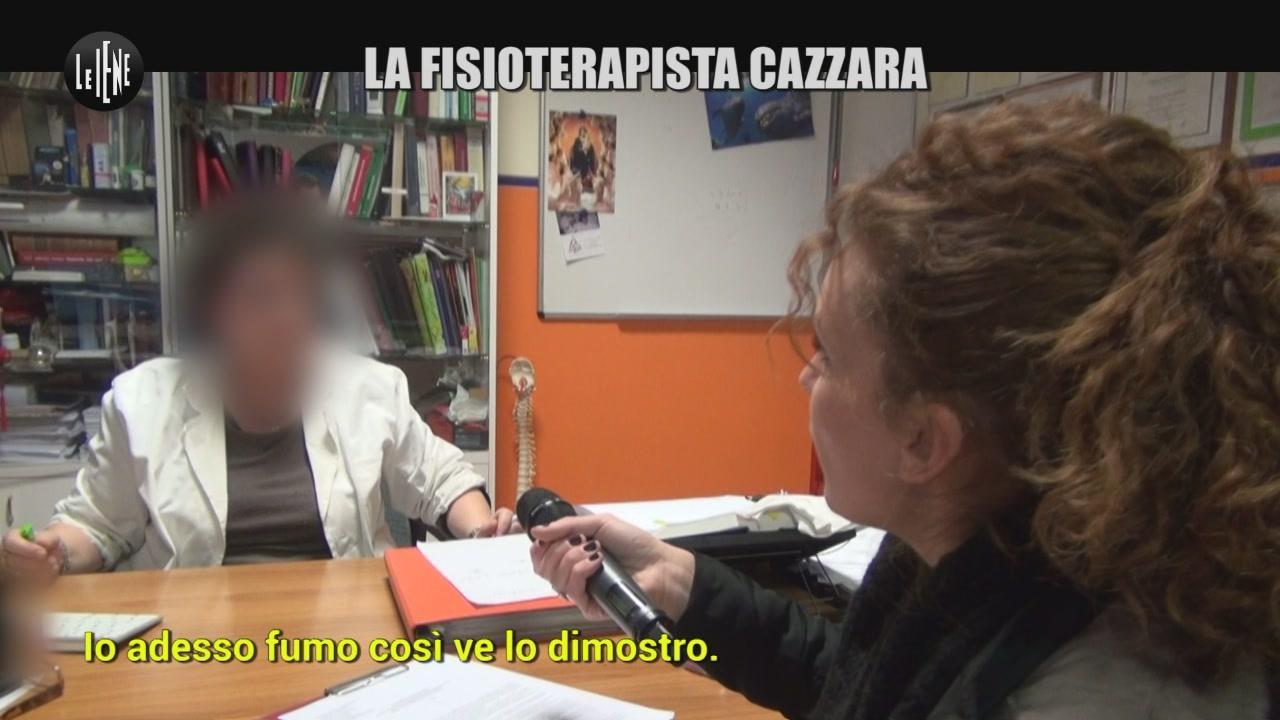 RUGGERI: La fisioterapista cazzara