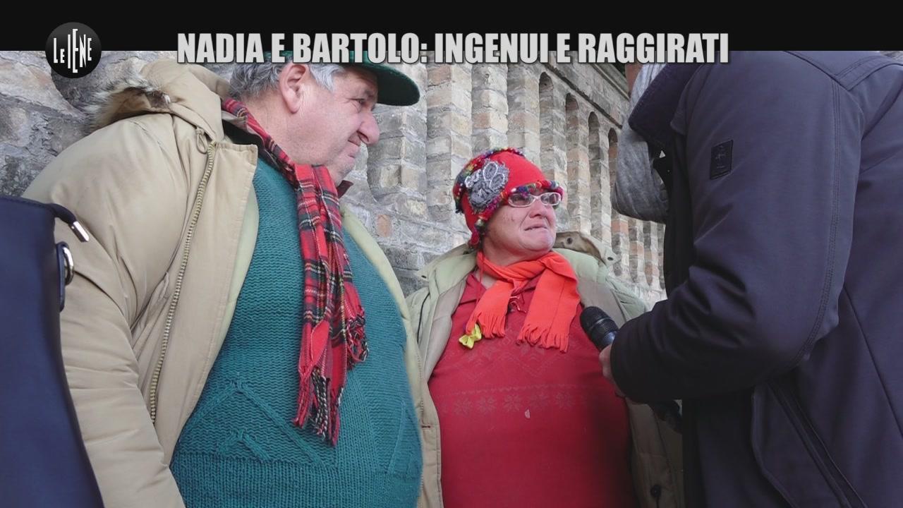 GOLIA: Nadia e Bartolo: ingenui e raggirati