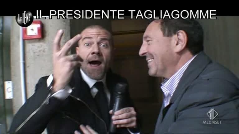 GOLIA: Il presidente tagliagomme