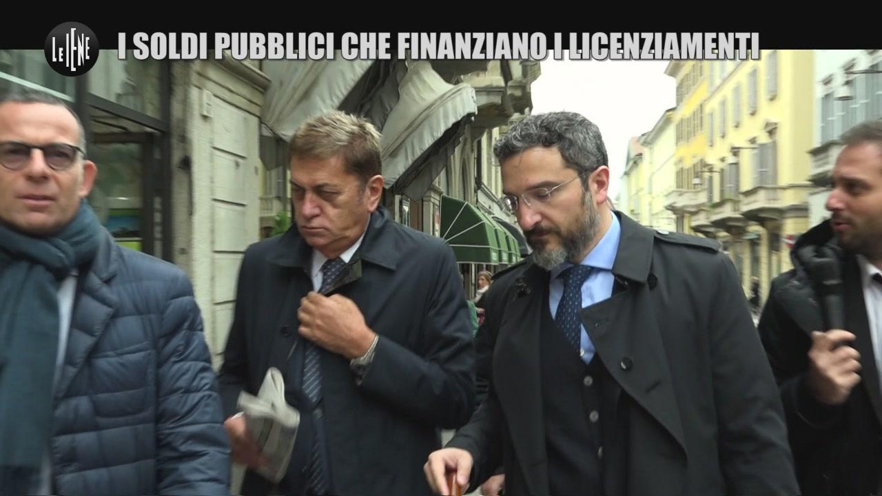 PECORARO: I soldi pubblici che finanziano i licenziamenti