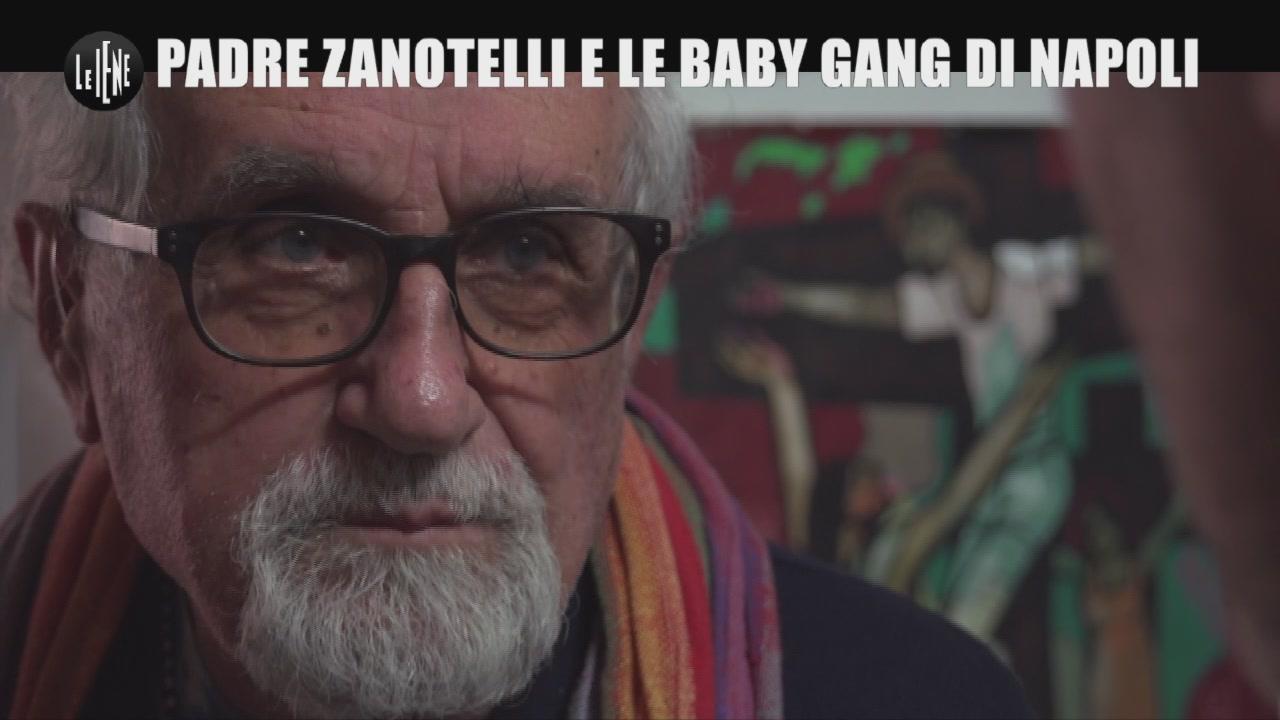 GOLIA: Padre Zanotelli e le baby gang di Napoli