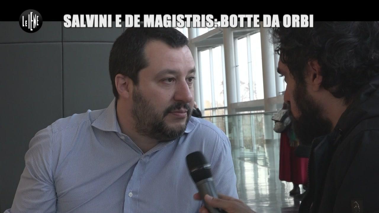 GIARRUSSO: Salvini e De Magistris: botte da orbi
