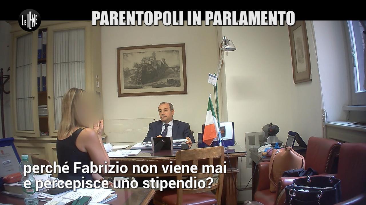 ROMA: Parentopoli e lavoro in nero in Parlamento