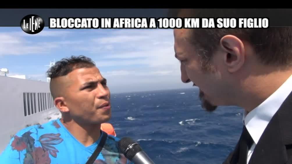 CASCIARI: Bloccato in Africa a 1000 km da suo figlio