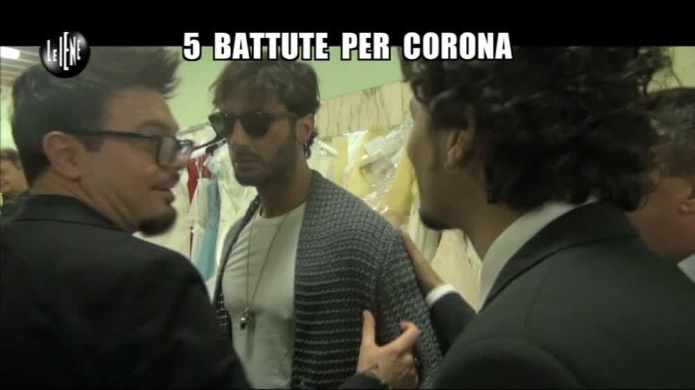 SPARACINO: 5 battute per Corona