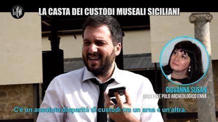 PECORARO: La casta dei custodi muse ali siciliani