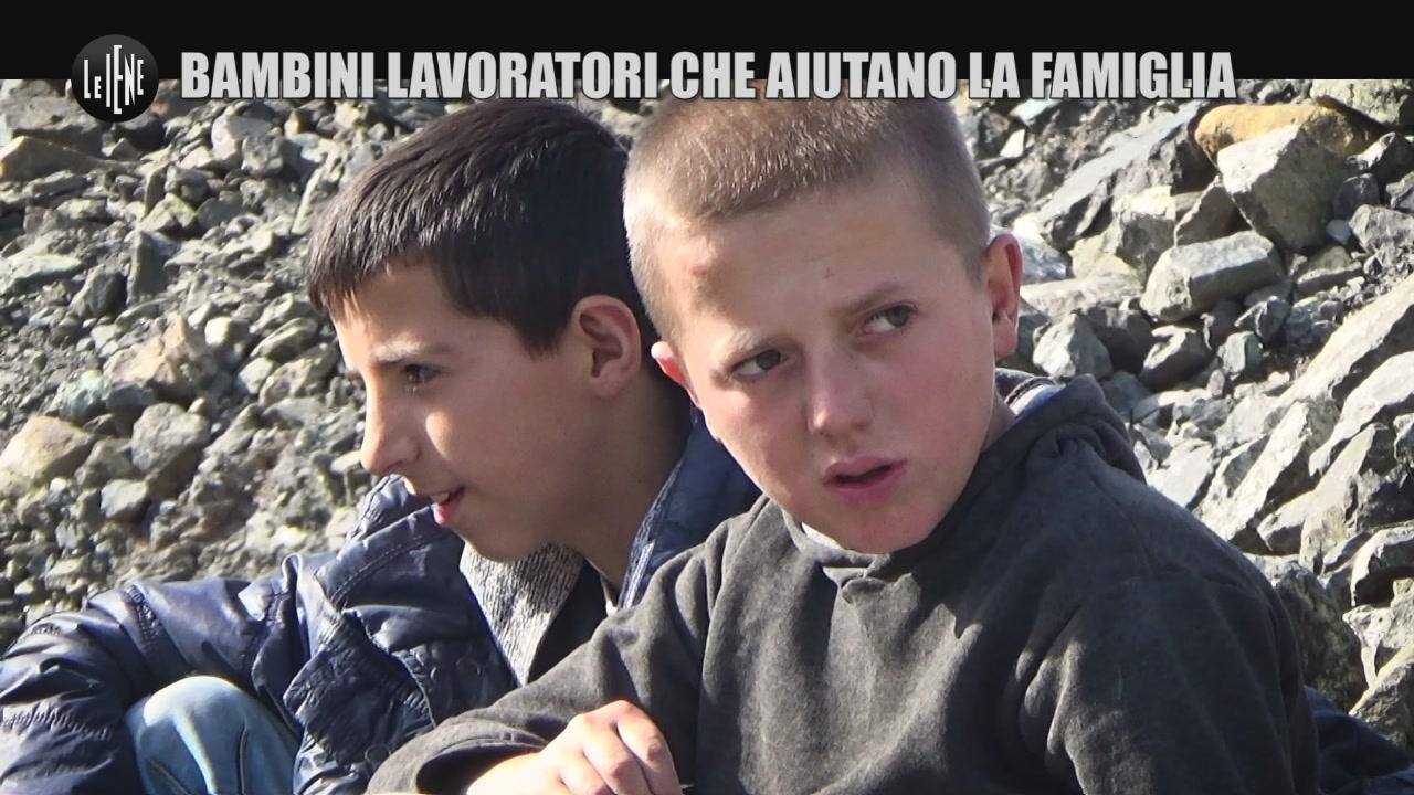 MARTINELLI: Bambini lavoratori che aiutano la famiglia