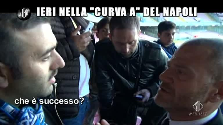 """GOLIA: Ieri nella """"curva"""" del Napoli"""