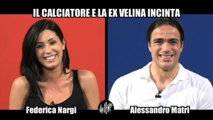 CORTI e ONNIS: Federica Nargi e Alessandro Matri