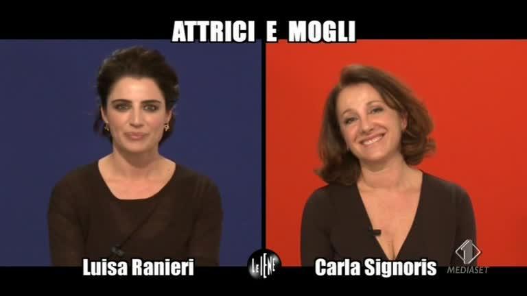 INTERVISTA: Luisa Ranieri e Carla Signoris