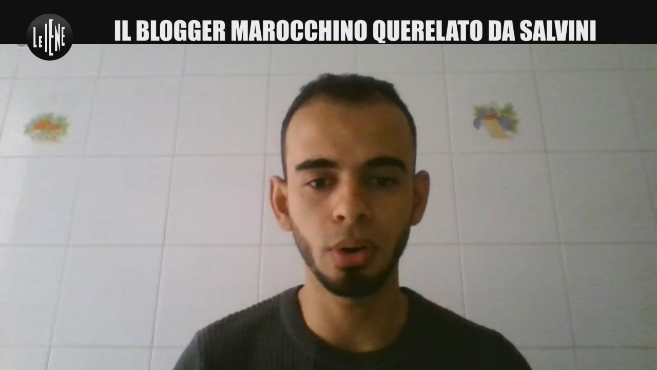 Io, marocchino querelato da Salvini