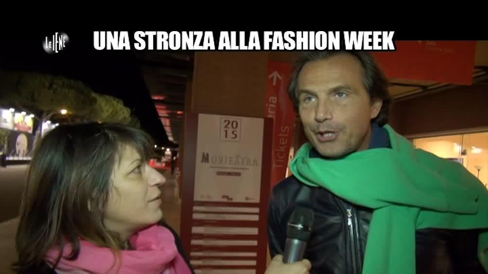 SARNATARO: Una stronza alla Fashion Week