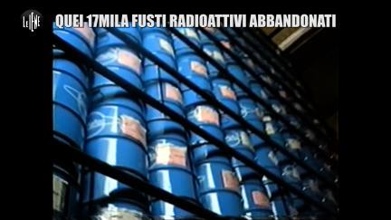 GOLIA: Quei 17 mila fusti radioattivi abbandonati