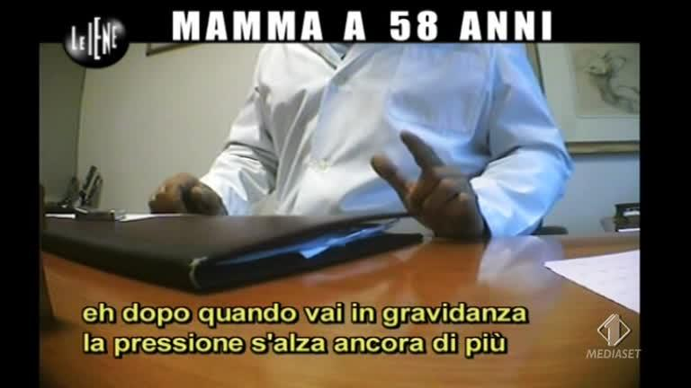 NOBILE: Mamma sessantenne