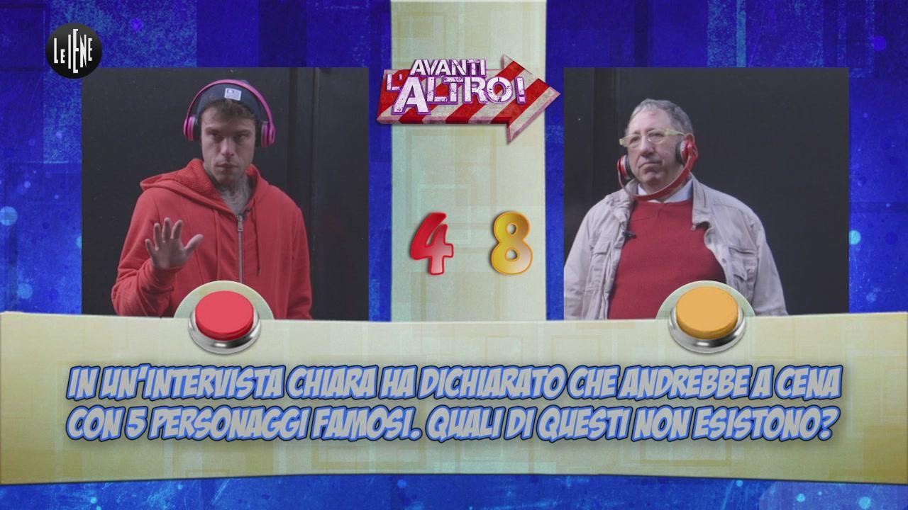 CORTI E ONNIS: Avanti l'Altro con Fedez e Chiara Ferragni.