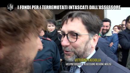 ROMA: I fondi dei terremotati intascati dall'Assessore