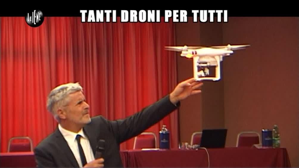 LUCCI: Tanti droni per tutti