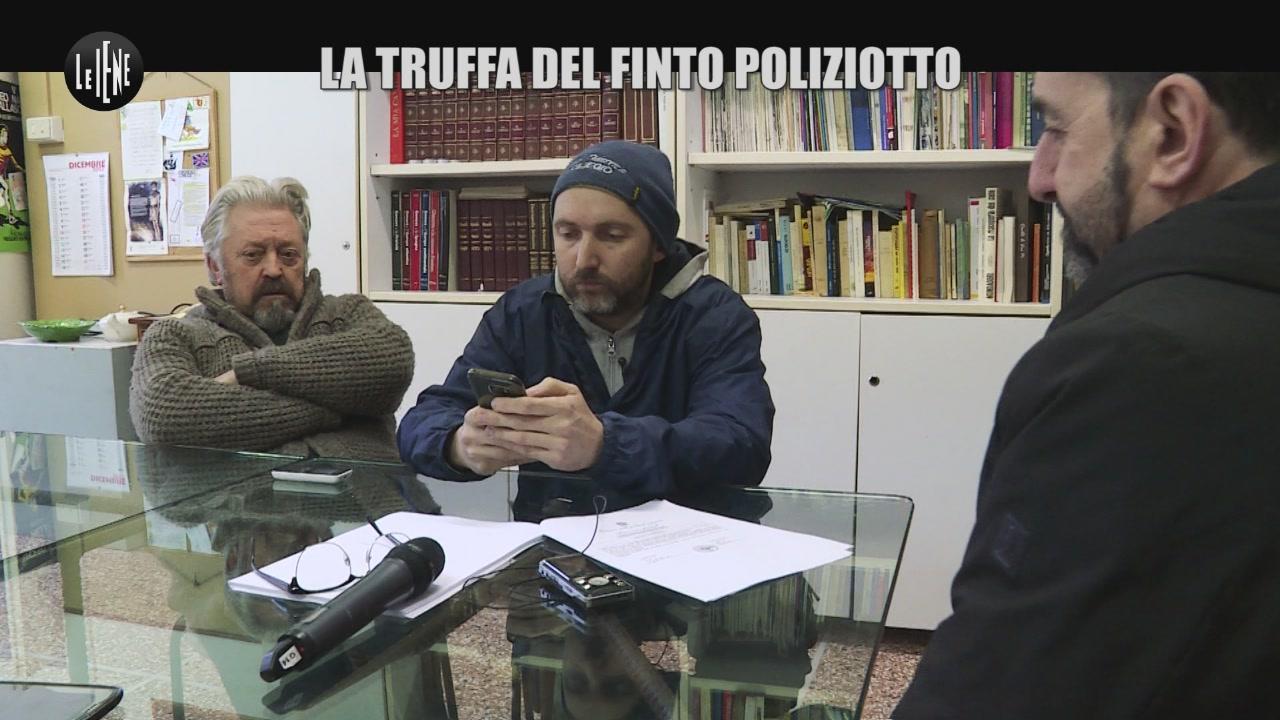 PELAZZA: La truffa del finto poliziotto