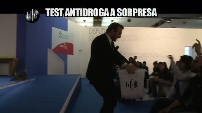 CASCIARI: Test antidroga a sorpresa